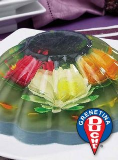 Edible Floral Bouquet Gelatin