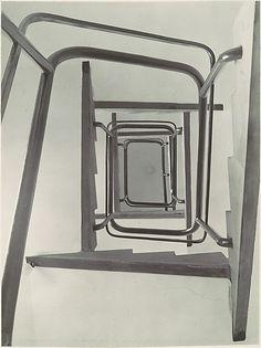 Stairwell, View from Below by Albert Renger-Patzsch