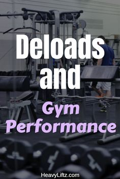 What if I told you that taking it easy at the gym would be beneficial? This article talks about why and how to deload, with signs of when to deload! Compound Lifts, Best Physique, Muscle Memory, Best Gym, Take It Easy, Muscle Groups, Gain Muscle, Total Body, Going To The Gym