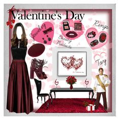 """Valentines Day II"" by rafakeka ❤ liked on Polyvore featuring Polaroid, Isabel Marant, L.A. Girl, Bobbi Brown Cosmetics, Marni, Rosantica, Buy Seasons, Sole Society, N°21 and NYFW"