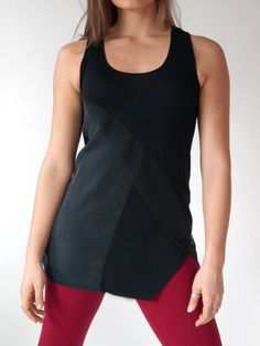 Another cool top by local Baltimore designer Erin Draper.
