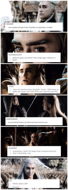 Thranduil + text posts