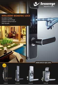 Biometric locks are rage these days because of their intelligent technology and multiple modes of opening.  It is a three in one solution. You can open the door by fingerprint, password and physical keys just in case. The biometric locks are very simple locks. Three-door-lock-opening-mode is a wonderful feature. In case you forget your pass code, you can open by the spare keys. No big deal. You don't have to stay out because you lost your keys or battery of your door lock died.