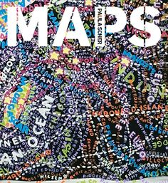 Collected here for the first time, Paula Scher MAPS presents thirty-nine of Scher's obsessively detailed, highly personal creations. Map Design, Book Design, Graphic Design, Graphic Art, Paula Scher Maps, Best Travel Gifts, Map Painting, Communication Art, We Are The World