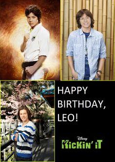 """Ontem foi o aniversário do nosso jovem guerreiro, Leo Howard, de """"Os Guerreiros Wasabi"""". Feliz Aniversário Atrasado, Leo!"""