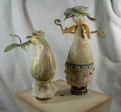 gourd ladys by juliehaymakerthompson, via Flickr