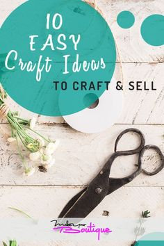 Want to start an online store but aren't sure what to sell? Sell your crafts o… Want to start an online store but aren't sure what to sell? Sell your crafts online with these 10 craft ideas you can make and sell from home. Easy Crafts To Sell, Diy And Crafts Sewing, Diy Arts And Crafts, Crafts For Teens, Handmade Crafts, Sewing Ideas, Starting An Online Boutique, Selling Online, What To Sell