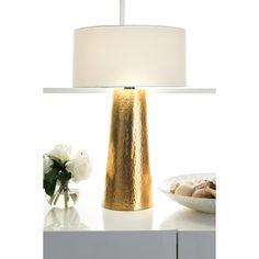 Awesome Watch Hill 21u0027u0027 Layla Aluminum Cotton Shade Table Lamp, White (White)