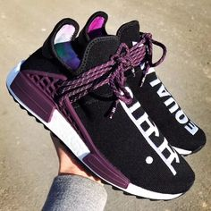 """highsnobietyPharrell x adidas NMD Hu """"Equality"""". Releasing in 2018.  See Instagram photos and videos from HIGHSNOBIETY (@highsnobiety)"""