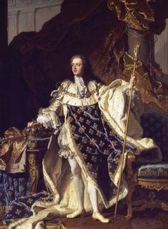 Louis XV by Hyacinthe Rigaud