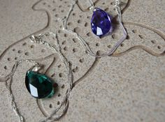 Swarovski 28 mm Tear Drop Pendant with by Jewelry Shop, Fine Jewelry, Jewelry Design, Jewellery, Crystal Pendant, Sterling Silver Chains, Swarovski Crystals, Female Heroines, My Etsy Shop