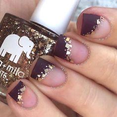 Pretty and Trendy Nail Art Designs 2016 .   Fashion Te