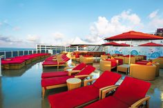 The Posh Beach Club is perfect for lounging around and soaking up the sun