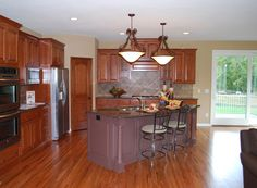 Open Kitchen layout in Plan 072S-0005 | House Plans and More