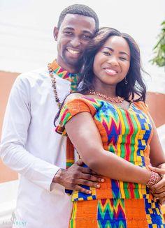 Collins and Adwoa   I do Ghana