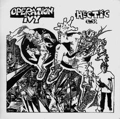 Operation Ivy. Hectic. Lookout Records. 1988.