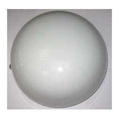 PLAFON CRISTAL VITUBER DUPLEX 20cm REDONDO Referencia  13602 Condición  NUEVO  Plafón de cristal Zeta - Vituver R Plafón de instalacion a techo o pared, PARA uso de una lampara de incandescencia D45, con casquillo E- 27 y potencia de HASTA 60W. El soporte ESTA fabricado en estampacion de metal. Equipada con difusor semiesferico reliazado en cristal de 2,5 mm de espesor, con acabado opal duplex de color blanco. El difusor se fijaal soporte trasero mediante dos aletas giratorias. 15,60€.