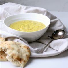 A lightly spiced cauliflower and potato soup that is low in fat and calories, but hearty and filling.
