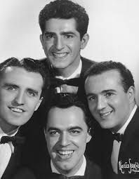 The Four Aces, 'Three Coins in the Fountain' 1954.