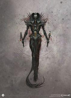 Le Pharaon Noir, Avatar de Nyarlathotep