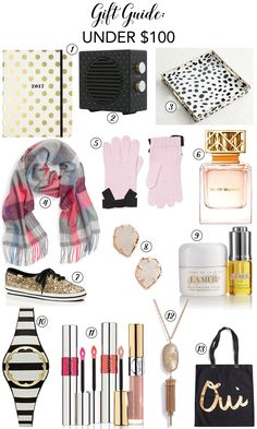 Cute and affordable holiday gift ideas under $100 - Chicfetti Holiday Gift Guide