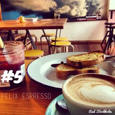 Felix Espresso. Brisbane. Brisbane CBD. Coffee. 365 coffees. 365 cafes. 365 days.