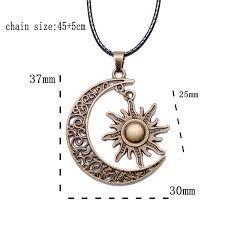 Resultado de imagen para sol y luna collar