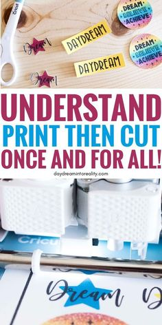 Learn - Whether you have Maker or Explore - how to Print and Cut images with your Cricut. Today you are going to learn - whether you have Maker or Explore Cricut Help, Cricut Air, Cricut Vinyl, Mason Jar Crafts, Mason Jar Diy, Cricut Print And Cut, Fun Craft, Craft Ideas, Craft Activities