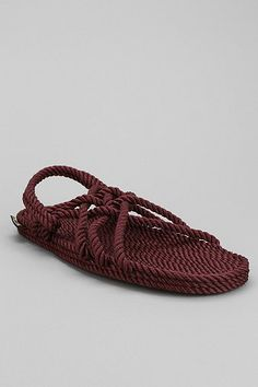 13bca4b97ede Burkman Bros X Gurkee s Neptune Rope Sandal. Rope SandalsFlat SandalsFashion  ShoesMens FashionFashion OutfitsBoogie ...