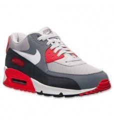 96a2b01371c28 Nike Air Max 90 Essential Chaussures Homme Code de Style  537384 011 Gris  Ardoise