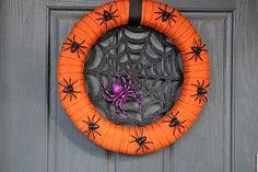 Halloween wreath DIY