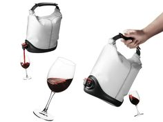 Baggy Wine Coat gives box wines a casual but stylish look. Simply take the inner wine bag out of the box, and...