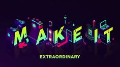 Adobe approached us to create the opening titles for their annual creative conference, Make It, which took place at Carriageworks in Sydney on May 5, 2016. The main imagery for the event was created as an isometric illustration by Shaivalini Kumar, an artist from New Dehli, India. Luxx worked alongside the fabulous Mike Tosetto and we rebuilt all the elements in 3D, then rendered the scene using global illumination, a process that simulates light bouncing and colour bleeding. This te...