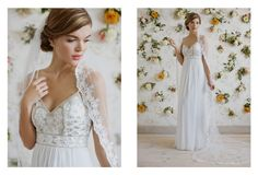 From This Day Forward - A Modern-Vintage Wedding Collection from Ruche Bridal! Stunning and budget friendly! Modern Vintage Weddings, Vintage Inspired Wedding Dresses, Vintage Inspired Fashion, Wedding Album Design, Wedding Blog, Wedding Photos, Vintage Floral Wallpapers, Marie, Ball Gowns