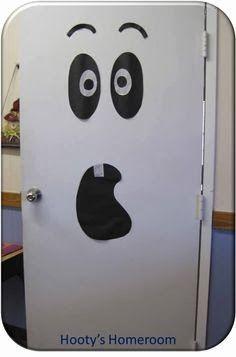 a eye catching halloween themed door for your classroom kinderland collaborative pinterest classroom front doors and class door