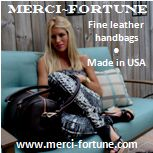 Merci-Fortune Fine leather handbags, made in USA
