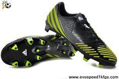 Latest Listing (V20976) Adidas Predator LZ TRX FG Black-Neo Iron Met.-Lab Lime For Sale