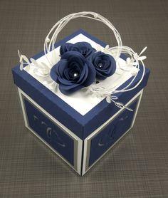 Gift Card Boxes, Diy Gift Box, Diy Box, Diy Exploding Box, Scrapbook Box, Scrapbooking, Creative Gift Wrapping, How To Make Box, Magic Box