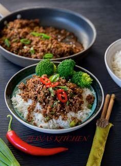 Koreansk färs- Middag på 30 min - ZEINAS KITCHEN Bulgogi, Slow Food, Lord Byron, Zeina, Asian Kitchen, Vegetarian Recipes, Healthy Recipes, Asian Recipes, Ethnic Recipes