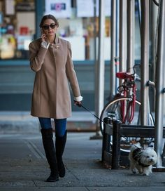 Olivia Palermo in New York.