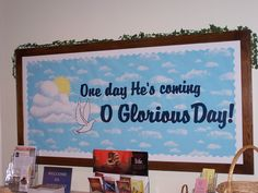 Easter - One day He's coming, O Glorious Day!