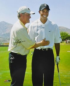 Jack Nicklaus  with Tiger Woods