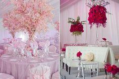 ► Detalles de boda para una boda rosa. #boda #rosa