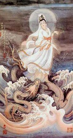 Kwan Yin (Quan Yin, Chinese Mother Goddess)