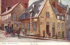 Quebec Canada Montcalm house oilette ser 2243 postcard
