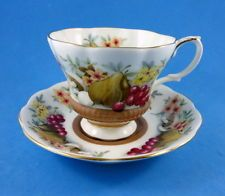 "Royal Albert "" Country Fayre Devon ""  Tea Cup and Saucer Set"