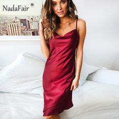 Nadafair spaghetti strap midi sexy dress women 2019 spring sleeveless  backless leopard print polka dot club summer beach dress - lztees 260c432b8b82