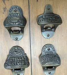 Cast iron #vintage rustic collectable wall mounted beer #bottle #openers 4 styles,  View more on the LINK: 	http://www.zeppy.io/product/gb/2/272037788568/