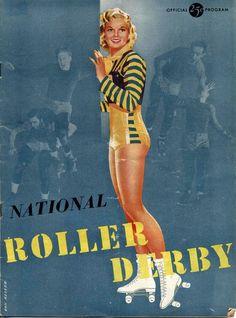 1950 National Roller Derby Program
