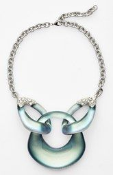 Alexis Bittar 'Lucite®' Link Frontal Necklace